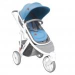Бебешка количка Calibra 3 Grey and Blue