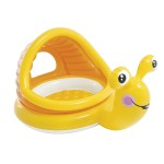 Бебешки надуваем басейн със сенник Охлювче