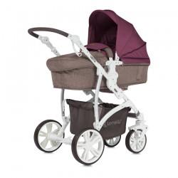 Детска количка VIsta Beige and Red