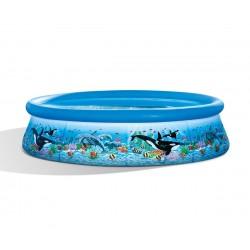 Надуваем басейн с филтърна помпа 305 х 76 см