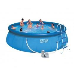 Надуваем басейн с филтърна помпа 549 х 122 см