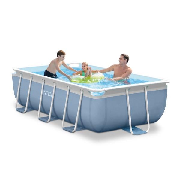 Сглобяем басейн с филтърна помпа 300 х 175 х 80 см
