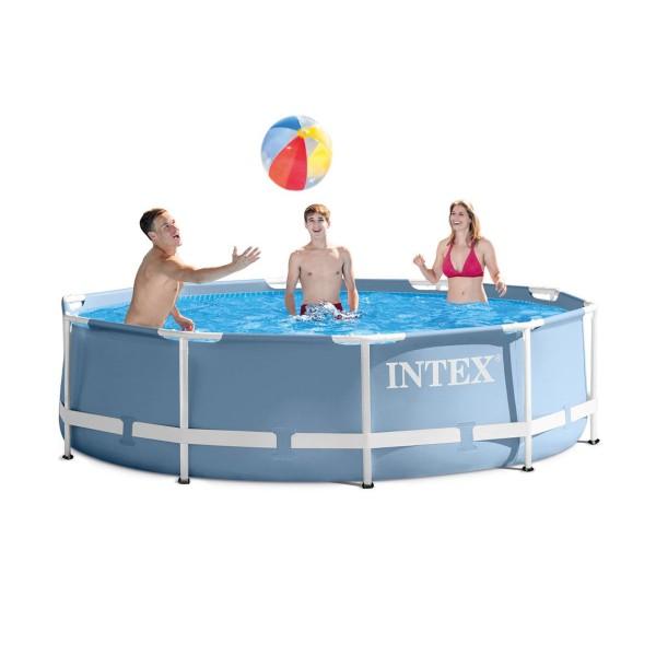 Сглобяем басейн с филтърна помпа 305 х 76 см