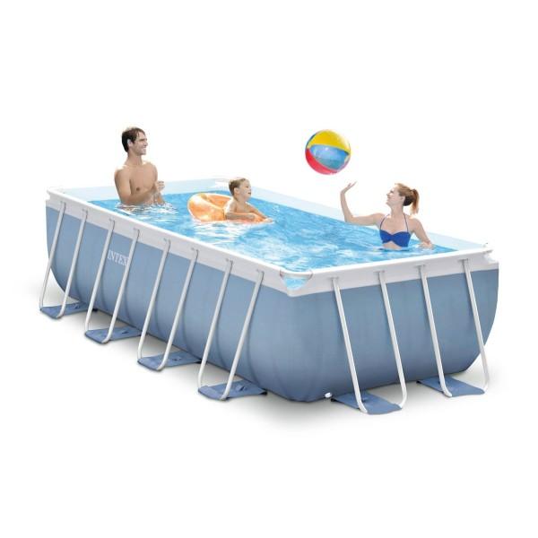 Сглобяем басейн с филтърна помпа 400 х 200 х 100 см