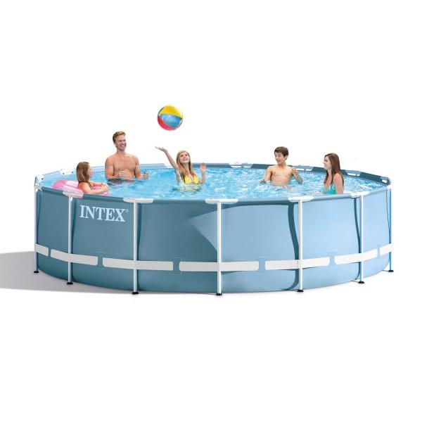 Сглобяем басейн с филтърна помпа 457 х 84 см