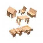 Ses Комплект дървени фигури
