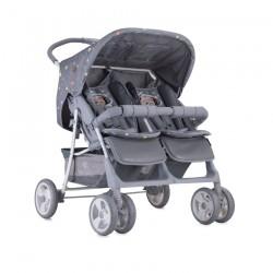 Бебешка количка Twin Grey Cute Kitten