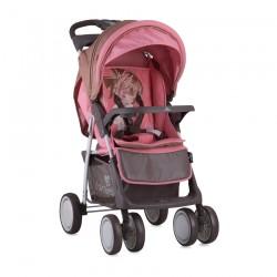 Детска количка Foxy Beige and Pink Girl с покривало