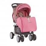 Детска количка Foxy сет Beige and Pink Girl