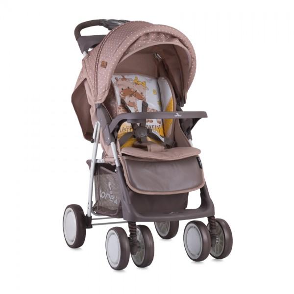 Детска количка Foxy сет Beige and Yellow happy family