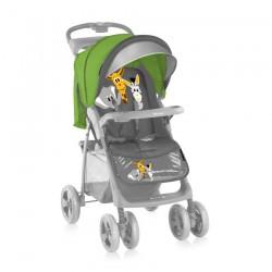Детска количка Foxy сет Green and Grey Safari