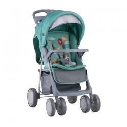 Детска количка Foxy сет Green Happy Animals