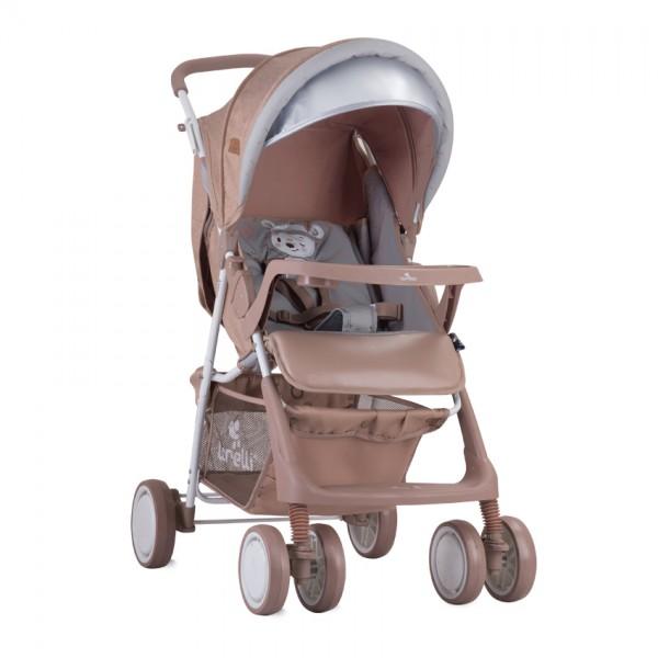 Детска количка Terra Beige Indian Bear с покривало
