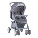 Детска количка Terra Grey Cute Kitten с покривало