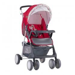 Детска количка Terra Red Best Friends с покривало