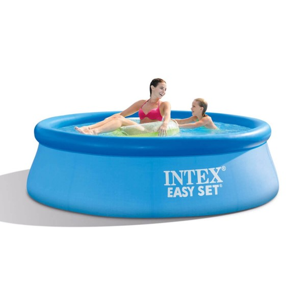 Intex Easy Set  Надуваем басейн 244/46