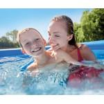 Intex Easy Set Надуваем басейн с филтърна помпа