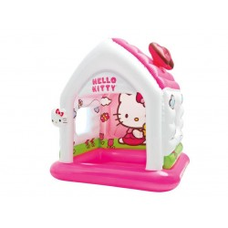 Intex Надуваема къщичка Hello Kitty