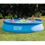 Intex Easy Set басейн с филтърна помпа 396*84 см
