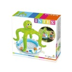 Intex Бебешки надуваем басейн със сенник Октопод