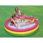 Intex Детски надуваем басейн 3 цвята