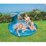 Intex Детски надуваем басейн с пръскалка Кит