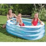 Intex Детски надуваем басейн Морски приятели