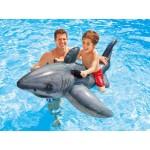 Intex Надуваема бяла акула