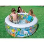 intex Детски надуваем басейн Аквариум