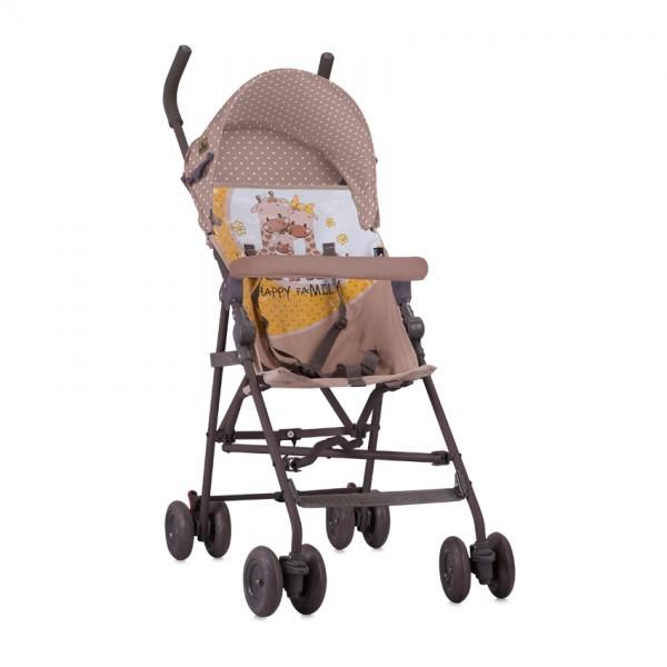 Бебешка Количка LIGHT Beige&Yellow Happy Family