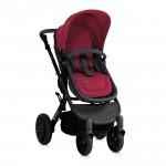Бебешка количка Luna 2в1 Black and Red