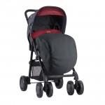 Детска количка Aero сет Black and Red