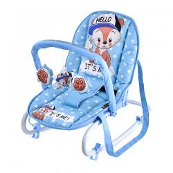 Шезлонг TOP RELAX Blue Baby Fox