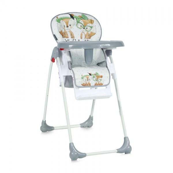 Столче за хранене OLIVER Grey Foxes