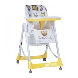 Столче за хранене PRIMO Yelloe Cute Owls