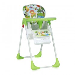 Столче за хранене TUTTI FRUTTI Green Jungle