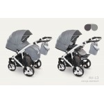 Бебешка количка Avenger Standart графит/сив
