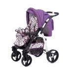 Dizain Baby Бебешка количка Kontessa виолетова