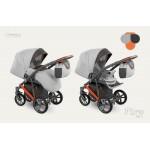 Dizain Baby Бебешка количка Piro оранжева