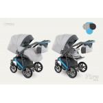 Dizain Baby Бебешка количка Piro синя