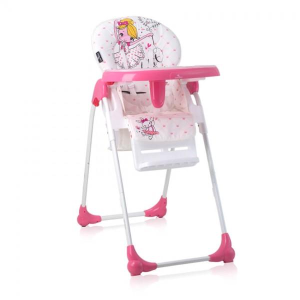 Столче за хранене OLIVER Pink Ballet