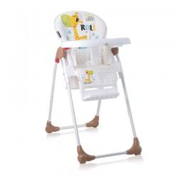 Столче за хранене OLIVER White&Beige Giraffe