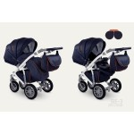 Бебешка количка Sirion Eco Синя