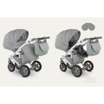 Бебешка количка Sirion Eco Сива