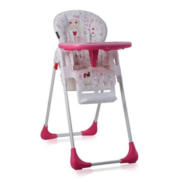 Столче за хранене TUTTI FRUTTI Pink Girl