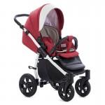Бебешка количка 3в1 Forester червена