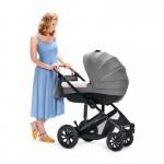 KinderKraft Бебешка количка 3в1 Prime сива