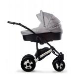 Бебешка количка Viola Графит