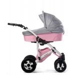 Бебешка количка Viola Розова