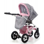 Dizain Baby Бебешка количка Viola Розова